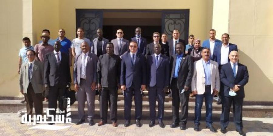 إستقبال وفد من جنوب السودان لتفعيل إتفاقية التعاون المشتركة