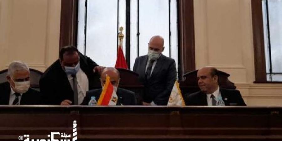 وزير العدل يفتتح أول قاعة مطورة بمحكمة جنايات الإسكندرية