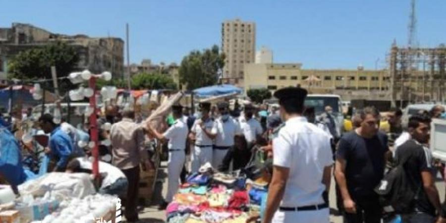 مديرية أمن الإسكندرية... ضبط 79 حالة إشغال بالمحافظة