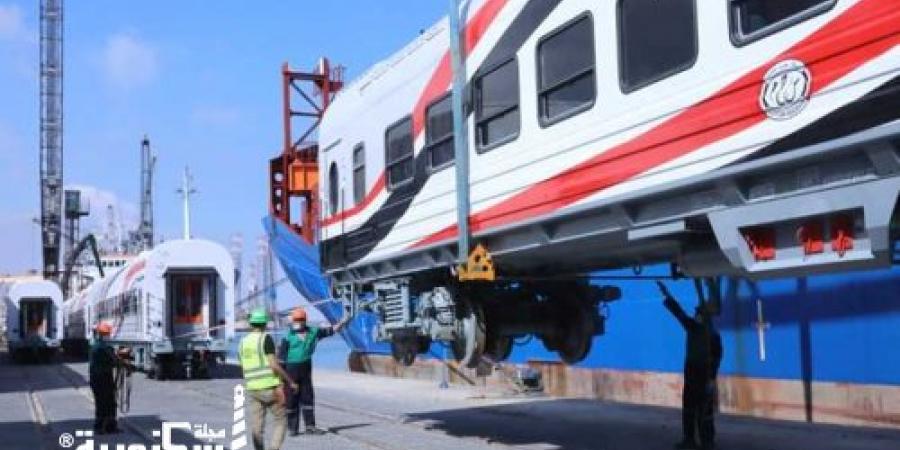 هيئة السكة الحديد...دفعة جديدة من العربات المجرية