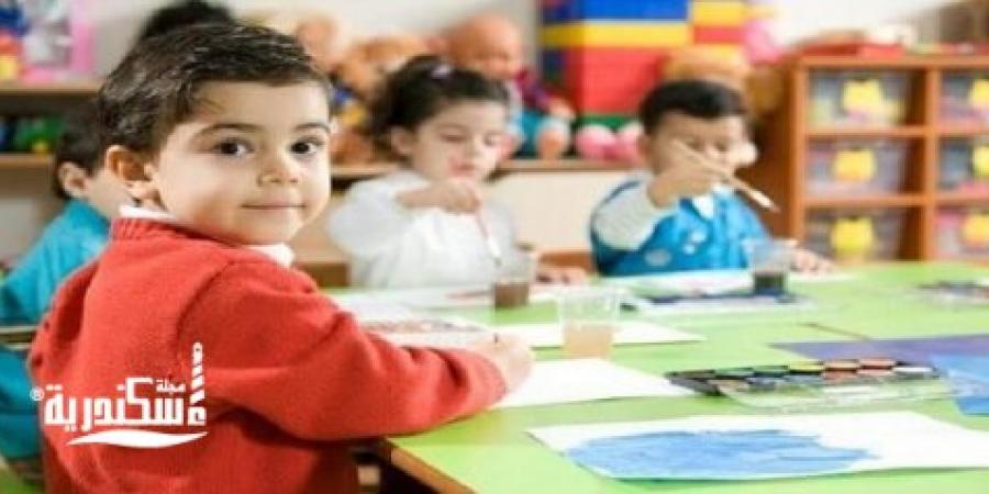 تعليم الإسكندرية... بدء العمل فى تنسيق رياض الأطفال و التغلب على مشكلات تعطل السيستم