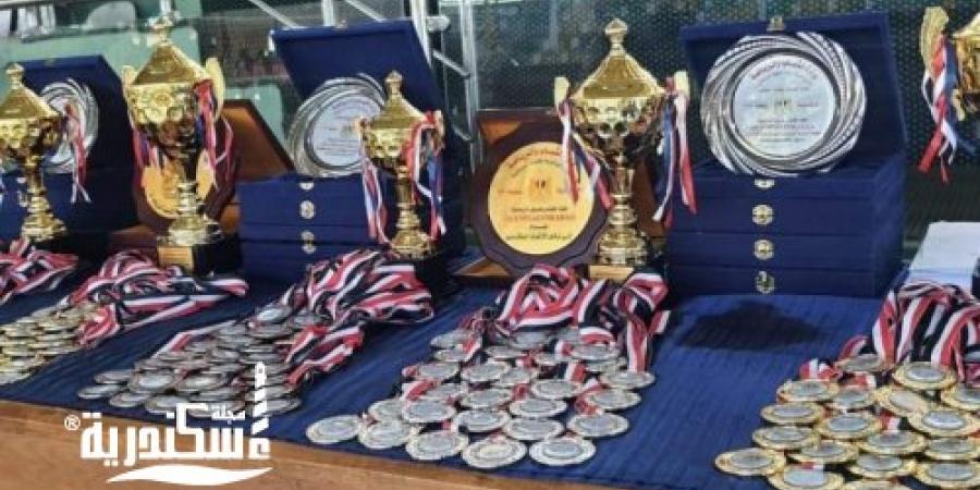 """فوز""""جامعة الإسكندرية"""" بالمركز الأول في نهائي العروض الرياضية لكليات التربية الرياضية"""