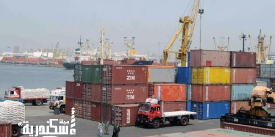 ميناء الإسكندرية...اجمالي البضائع المتداولة صادر و وارد بميناءي الإسكندرية والدخيلة 250ألف طن خلال الـ48 ساعة الأخيرة