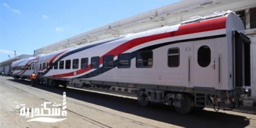هيئة السكة الحديد...رفع كفاءة قطارين على خط الإسكندرية بعربات روسية ديناميكية التهوية