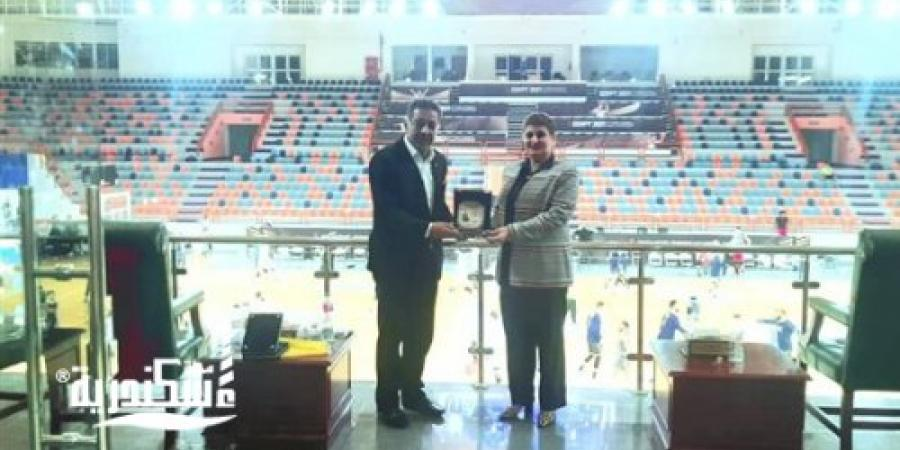 الاتحاد المصري لكرة السلة  يكرم وكيل الشباب والرياضة بـالإسكندرية