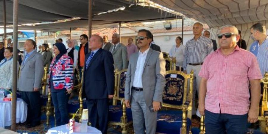 الهيئة القومية لتنشيط السياحة تشارك في احتفالات المحافظة بعيدها القومي