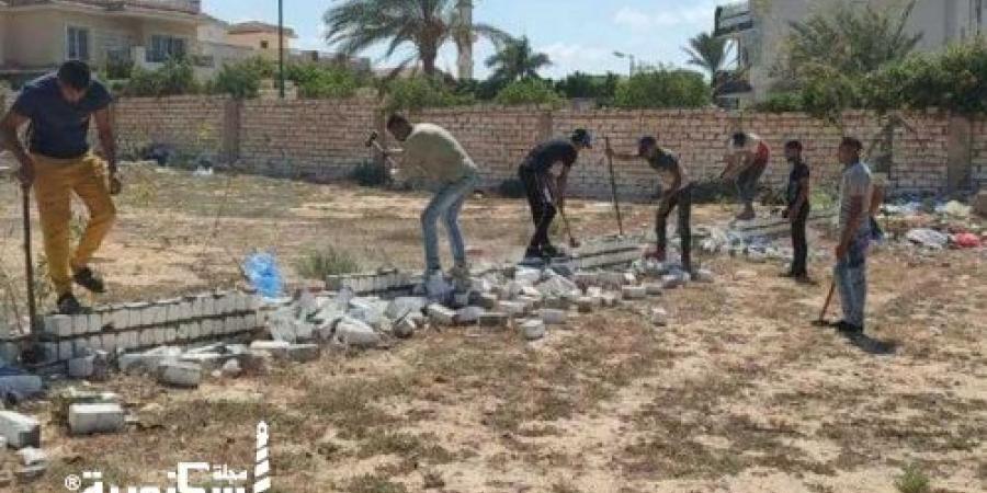 حملة مكبرة لإزالة التعديات على أراضي أملاك الدولة بطريق «الإسكندرية - مطروح»