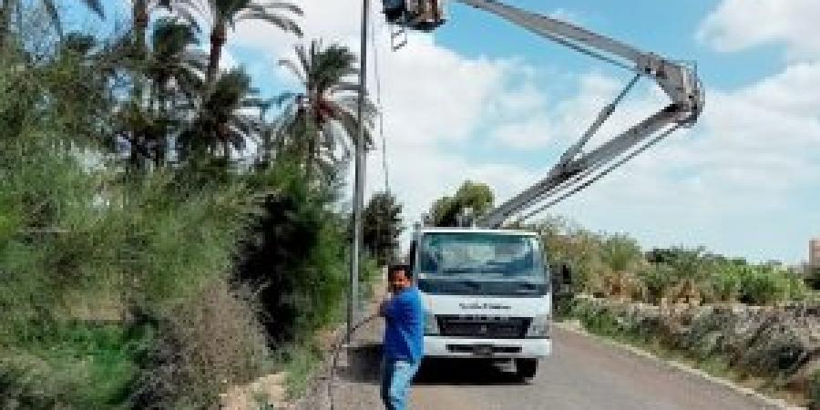 محافظ الإسكندرية.....ضرورة إنهاء أعمال تأمين أعمدة الإنارة العامة بنطاق الأحياء استعدادا لموسم الأمطار